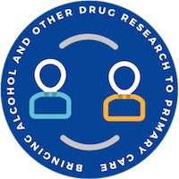 Bringing Alcohol and Other Drug Research to Primary Care logo